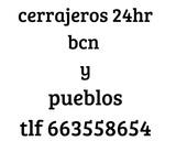 Cerrajero barato barcelona - foto