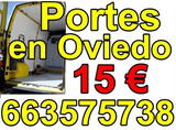 portes en oviedo 15 euros . 663-575738 - foto