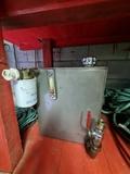 depósito aceite hidraulico - foto