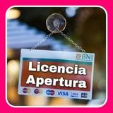 LICENCIA DE APERTURA - ARQUITECTO TEC.  - foto