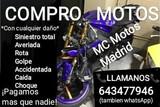 COMPRO MOTOS CON DAÑOS, ACCIDENTADAS YMAS - foto