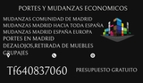 MUDANZAS/PORTES/TRANSPORTES