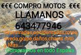 COMPRO MOTOS SINIESTRADAS, AVERIADAS, ROTA - foto