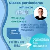 CLASES PARTICULARES REFUERZO EN VERANO - foto