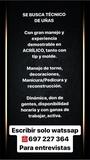 BUSCO MANICURISTA (TÉCNICO DE UÑAS) - foto