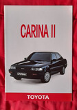 CATÁLOGO TOYOTA CARINA II .  FR .  1988 - foto