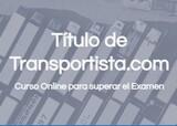 TITULO DE TRANSPORTISTA - CURSO - foto