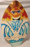 TABLA MADERA ESTILO SURF - foto