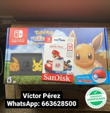 NINTENDO SWITCH V1 EEVEE MODIFICABLE - foto
