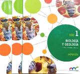 LIBRO BIOLOGÍA Y GEOLOGÍA 1 ESO ANAYA - foto