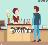 RECEPCIONISTA - AYUDANTE DE CAMARERA - foto