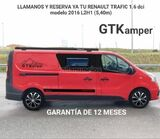 RENAULT TRAFIC 1. 6DCI 2016 L2H1 5, 40M GT KAMPER - foto