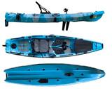 SHARK PEDAL-ALETAS DE DRACOKAYAK - foto