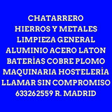 CHATARRERO MADRID - foto