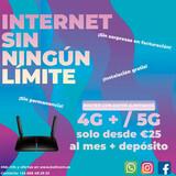 WIFI INTERNET 4G ROUTER DATOS ILIMITADOS