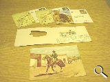 Tarjetas postales personales y filatelia - foto