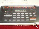 calculadora parlante solo idioma aleman - foto