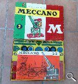 Antiguo meccano aÑo 1949 - foto
