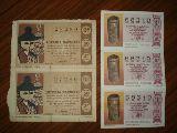 5 DECIMOS LOTERíA NACIONAL AñO 1966 Y 85