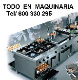 MAQUINARIA PARA HOSTELERIA RESTAURACIÓN - foto
