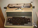 Máquina escribir eléctrica - foto