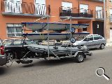 Remolque barca, kayac, zodiac, piragua - foto
