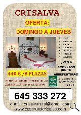 OFERTA ENTRE SEMANA: 440 €/8 plazas - foto