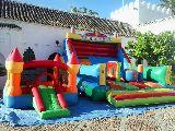 Nuevo Castillo PAYASO con animación - foto