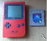Game boy pocket roja  + juego del tetris - foto