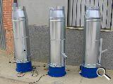 cañones de espuma por - foto