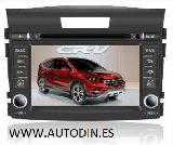 Radio Gps AutoDin  Honda Crv 2012 - foto