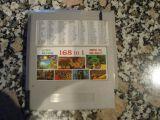 Cartucho Nintendo Nes 168 en 1 muy raro - foto