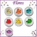 Flores secas para decorar uÑas - foto