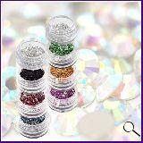 Piedras de decoración para uñas - foto
