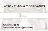 Yeso - pladur y derivados - foto