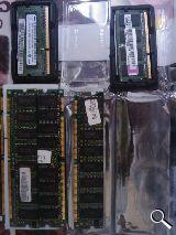 Modulos memoria RAM: DDR2,DDR, SDRAM,EDO - foto