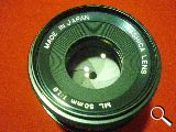Objetivo yashica 50mm 1.9 - foto