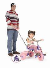 Triciclos rosa clasic trike pink de jugu - foto