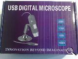 Microscopio usb 200x - foto