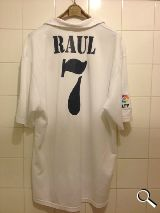 REAL MADRID CENTENARIO 7 RAUL  XL - foto