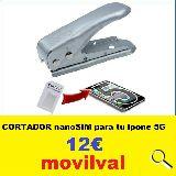 cortador nanoSIM para tu iphone 5G 6G 7G - foto