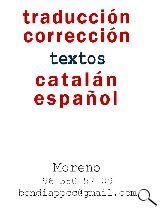 facturas. Traducciones catalán-español - foto