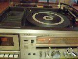 Sony  3 en 1 radio cassete tocadiscos - foto