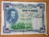 Billetes de 100 pts de 1925 - foto