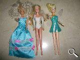2 Muñecas tipo Barbies - foto