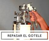 Mini maquina portatil repaso gotele,liso - foto