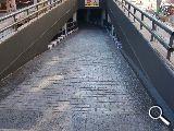 Pavimento hormigón .muros y  escaleras - foto