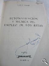 AUT.  Y TECNICA DEL EMPLEO DE  RELES 1965 - foto