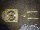 reloj de pared antiguo de cuerda - foto