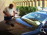 Pulido de coche brillo espejo - foto